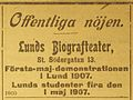 K O Krantz - bioannons i Lunds Dagblad 070504.jpg
