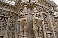 Kailasanatha Temple, dedicated to Shiva, Pallavve period, early 7th century, Kanchipuram (26) (37426697192).jpg