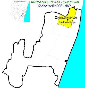 Kakkayanthope - Kakkayanthope Village in Ariyankuppam Commune
