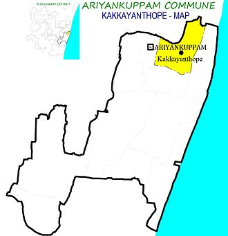 Ariyankuppam Commune - Image: Kakkayanthope AKM