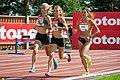 Kalevan Kisat 2018 - Women's 5000 m - Alisa Vainio, Janica Rauma, Kristiina Mäki 3.jpg