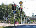Kallio Helsinki trafficlights August 2007.jpg