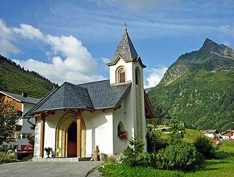 Galtür - Image: Kapelle Wirl