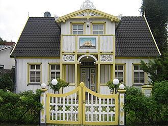 Zingst - Typical Zingst captain's house