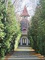 Kaple na hřbitově v Hlízově.JPG