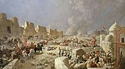 Karazin - Entry of Russian troops into Samarkand 1868