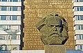 Karl-Marx-Monument in Chemnitz (Close up).jpg