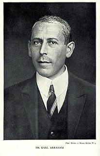 Karl Abraham psychoanalyst