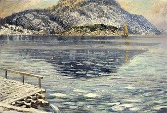 Edvard Diriks - Image: Karl Edvard Diriks Isløsning