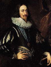 Karl I av England, målning av Anthonis van Dyck från 1632