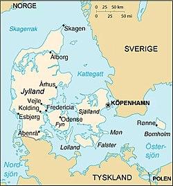 aarhus danmark karta Portal:Danmark – Wikipedia aarhus danmark karta
