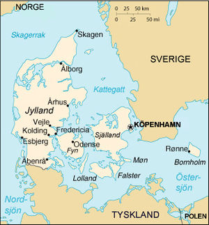 karta över södra danmark Danmarks geografi – Wikipedia karta över södra danmark