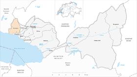 Map of Chardonne