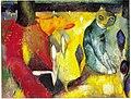 Kat - Cat, oil-painting by Herman Kruyder, c.1925.jpg