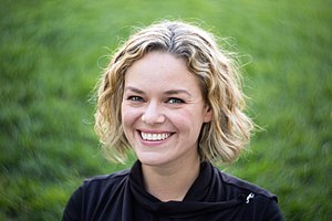 Wikimedia Foundation - Executive director Katherine Maher, 2016
