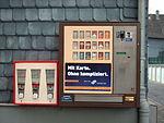 Kaugummi- und Zigarettenautomat