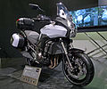 Kawasaki Versys1000 Pearl Stardust White right-front 2011 Tokyo Motor Show.jpg