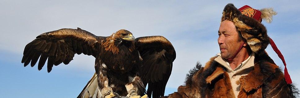 Kazakh-Mongolian Eagle Hunter