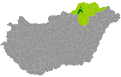 Location of ناحیهٔ کازینتس‌بارتسیکا