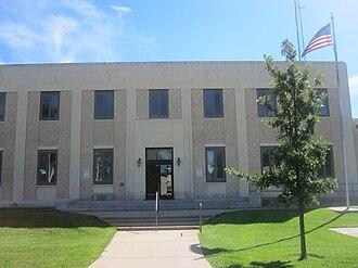 Lakin, Kansas - Kearny County Courthouse (2010)