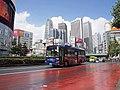 Keio Bus Higashi A20924 Shinjuku WE Bus Godzilla Bus at Kabukicho Route.jpg