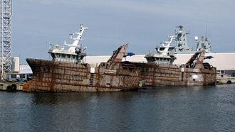 Fishing industry in Denmark - Fishing boat in Skagen