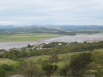 Arnside - View of the Kent Estuary from Arnside Knott