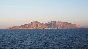 Keros - Keros island, view from the north