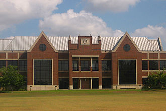 Schreiner University - Main building on Schreiner University campus