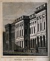 King's College, London. Engraving by J. Shury after T. H. Sh Wellcome V0013843.jpg