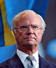 King Carl XVI Gustaf at National Day 2009 Cropped4