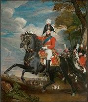 King George IV circa 1809 Oil on canvas by John Singleton Copley
