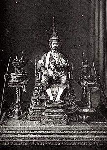 King Prajadhipok at his Coronation.jpg