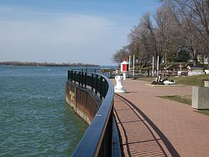 Amherstburg Royal Naval Dockyard - Site of the Dockyard at Navy Yard Park, Amherstburg