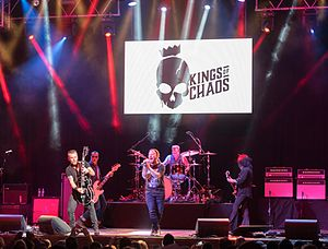 Kings of Chaos (band) - Kings of Chaos performing at the House of Blues in Las Vegas in December 2016