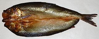 Kipper fish dish