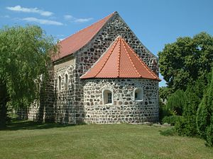 High Fläming Nature Park - Stone church in Jeserig/Fläming