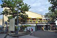 Kleinmarkthalle Frankfurt Westfassade