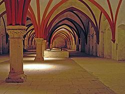 Kloster Eberbach Moenchsdormitorium