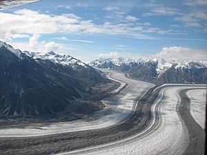 Kluane National Park and Reserve - Glaciers in the Kluane Icefield