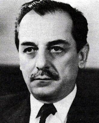 Koča Popović - Koča Popović as Foreign Minister