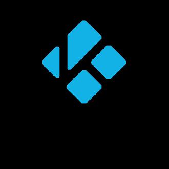 Kodi (software) - Image: Kodi logo Thumbnail light transparent