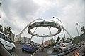 Kolkata Gate Under Construction - Rabindra Tirtha Crossing - Rajarhat - Kolkata 2017-06-21 2820.JPG