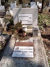 Kolozsvári Grandpierre Emil sírja.jpg