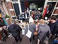 Koningsdag in Amsterdam, Prinsengracht foto 2.JPG