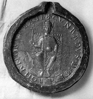 Seal of Conrad III.