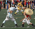 Korean Ministry of National Defense Honor Guard traditional sword and lance demonstration team-02.jpg