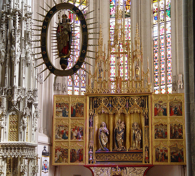 Súbor:Kosice - St. Elisabeth Cathedral - Altar.JPG