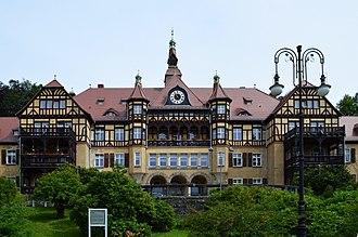 Kowary - Sanatorium in the district of Wysoka Łąka, Kowary