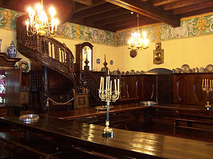 Collegium Maius - Image: Kraków Collegium Maius Stuba Communis 01